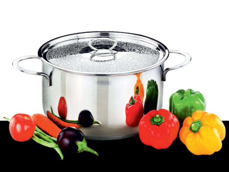 Cook pot Beau with Designed Lid