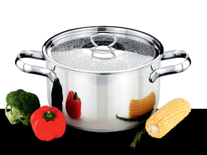 Cook pot Charmant with Designed Lid